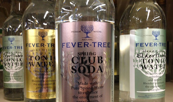 Independent Investment Trust: Fevertree bottles