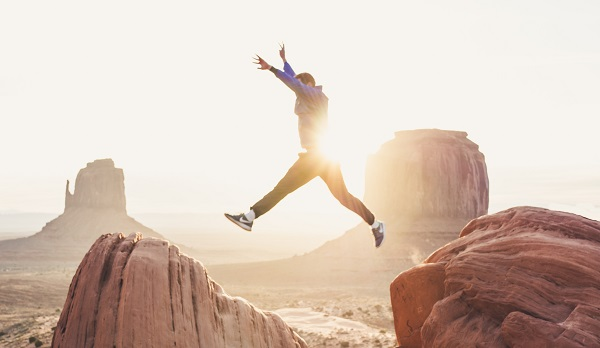 Are VCTs Still Attractive? Man jumping between rocks: Doran Erickson, Unsplash