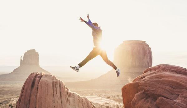 Are VCTs Still Attractive? Man jumping between rocks: Doran Erickson, Unsplash