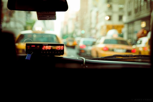 Fund charges as represented by taxi meter, Photo by John Cobb on Unsplash