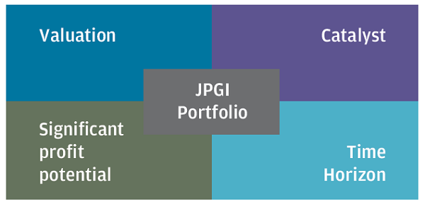 JPMorgan Global Growth & Income portfolio characteristics