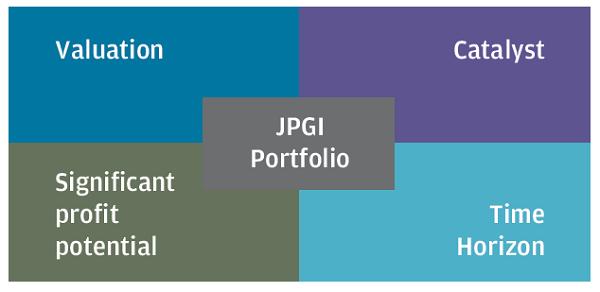 JPMorgan Global Growth & Income portfolio characteristics