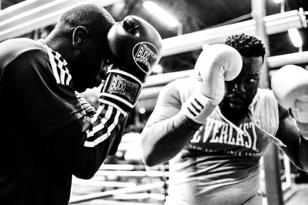 Fundsmith Equity vs. Lindsell Train Global, two boxers fighting in a ring, Photo by Johann Walter Bantz on Unsplash