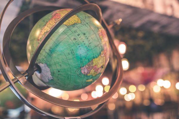 Globe, Photo by Artem Bali on Unsplash